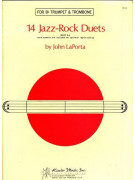 14 Jazz-Rock Duets for Trumpet & Trombone