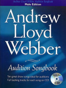 Andrew Lloyd Webber Audition Songbook (Male Edition) (BOOK/cd)