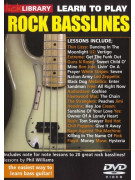 Lick Library: Learn To Play Rock Basslines (DVD)