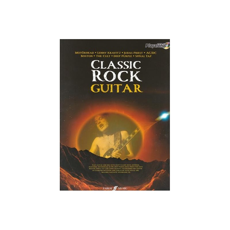 Classic Book Cover Guitar ~ Cd basi chitarra rock suona i classici del con le