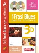 200 frasi blues per la chitarra in 3D (libro/CD/DVD)