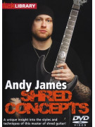Lick Library: Shred Concepts By Andy James (DVD)