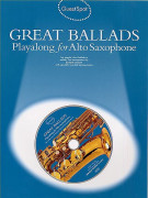 Guest Spot: Great Ballads Playalong For Saxophone (book/CD)