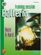 Training Session Batteria : Rock & Hard (libro/CD)