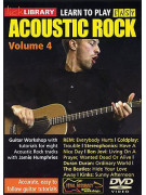 Lick Library: Learn To Play Acoustic Rock Volume 4 (DVD)