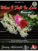 Aebersold 110: When I Fall In Love - Romantic Ballads (book/CD)