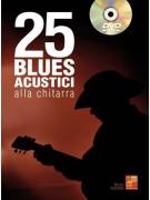 25 Blues acustici alla chitarra (libro/DVD)
