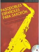 Pasodobles Españoles Para Saxofon (book/CD)