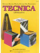 Metodo per lo studio del pianoforte : Tecnica - Livello 4