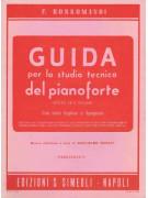 Guida per lo studio tecnico del Pianoforte: vol. 1