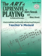 The Art of Expressive Playing for Winds and Percussion - Teacher (book/CD)