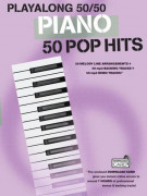 Playalong 50/50 Piano Pop Hits (book/Download Card)