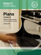 Trinity Guildhall: Piano Grade 2 - Pieces And Exercises 2012-2014 (book/CD)