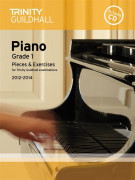 Trinity Guildhall: Piano Grade 1 - Pieces And Exercises 2012-2014 (book/CD)