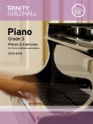 Trinity Guildhall: Piano Grade 3 - Pieces And Exercises 2012-2014 (BOOK/cd)