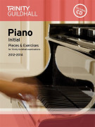 Trinity Guildhall: Piano Initial - Pieces And Exercises 2012-2014 (book/CD)