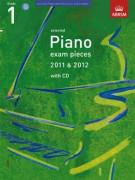 ABRSM: Selected Piano Exam Pieces: 2011-2012 (Grade 1) (book/CD)