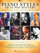 Piano Styles of 23 Pop Masters (book/CD)