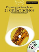 Guest Spot: 21 Greats Songs For Alto Saxophone (book/4 CD)