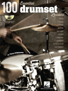 100 Essential Drumset Lessons (book/CD MO3)