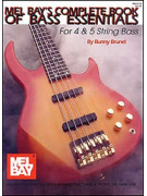 Complete Book of Bass Essentials (book/CD)