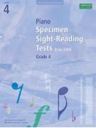 ABRSM: Piano Specimen Sight-Reading Tests, Grade 4