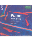 ABRSM Piano Examination Pieces /2009-2010 - Grade 5 (CD only)
