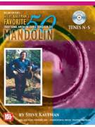 Steve Kaufman's Favorite 50 Mandolin, Tunes N-S (book/CD)