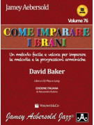 Aebersold Volume 76: Come imparare i brani (book/CD)