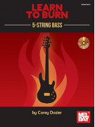 Learn to Burn: 5-String Bass Guitar (Book/CD)