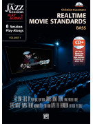 Realtime Movie Standards Bass (book/CD MP3)
