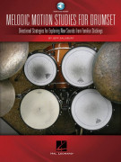 Melodic Motion Studies for Drumset (book/Audio Online)
