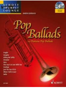 Pop Ballads for Trumpet (book/CD Play-Along)