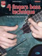 4 fingers bass technique (book/CD)