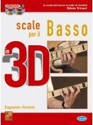 Scale per il basso in 3D (libro/CD/DVD)