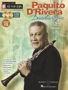 Jazz Play-Along Volume 113: Paquito D'Rivera – Brazilian Jazz (book/CD)