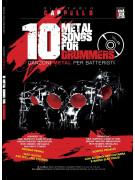 10 Metal songs for Drummers (libro/CD)