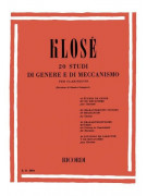 20 Studi di genere e di meccanismo per clarinetto