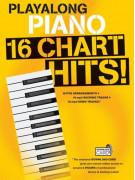 Playalong Piano: 16 Chart Hits (Book/Download Card)