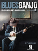 Blues Banjo (book/Softcover Audio Online)