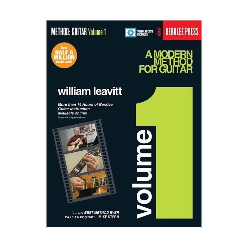 Modern Book Cover Guitar ~ Leavitt modern method for guitar birdlandjazz