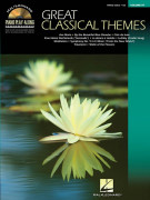 Piano Play-Along: Great Classical Themes Volume 97 (book/CD)