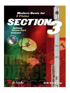 Section 3: Modern Beats for 3 Flutes (book/CD play-along)