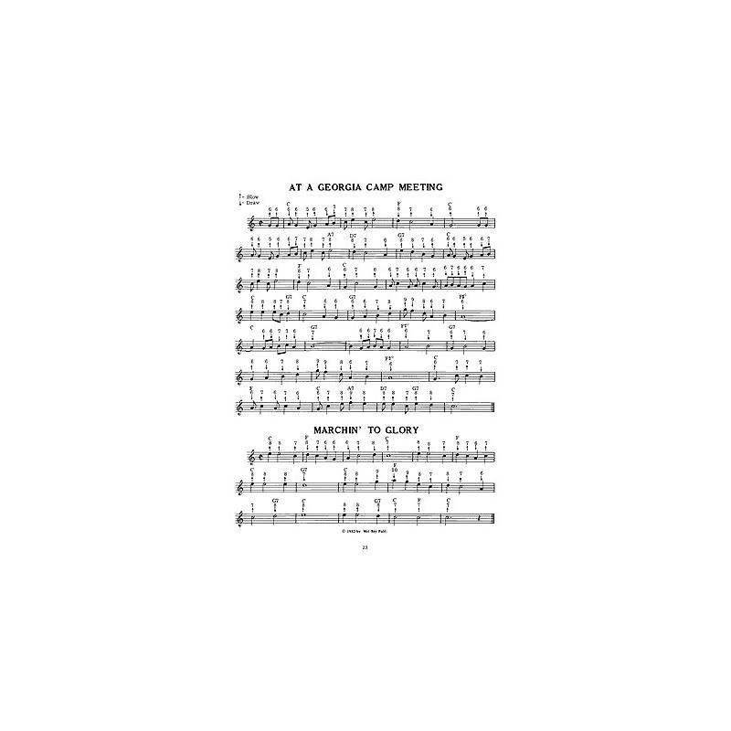 spartiti armonica, canzoni armonica, Harmonica Songbook