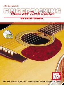 Fingerpicking Blues and Rock Guitar (Book/CD)