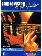 RGT - Improvising Bass Guitar, Early Stages (Book/CD)