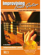 RGT - Improvising Bass Guitar, Intermediate Level (Book/CD)