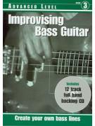 RGT - Improvising Bass Guitar, Advanced Level (Book/CD)