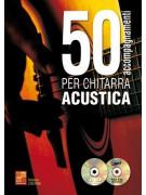 50 accompagnamenti per chitarra acustica (libro/CD/DVD)
