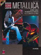 Bass Legendary Licks: Metallica (book/CD)